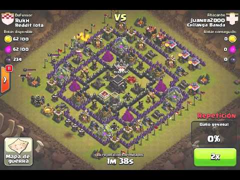 Clash of Clans Chilanga Banda así Se Caga un Ataque