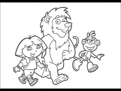 Dora the Explorer: Coloring Book - Full Game 2014