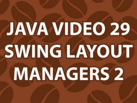 Java Video Tutorial 29