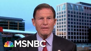 Senator Richard Blumenthal Says Arming Teachers Is 'Toxic Lunacy,'   Morning Joe   MSNBC