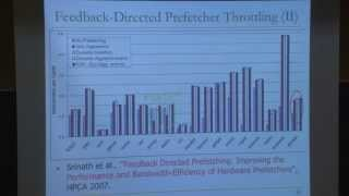Carnegie Mellon - Computer Architecture 2013 - Onur Mutlu - Lecture 30A - Advanced Prefetching