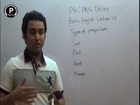 Pacans Online: Basic English in Urdu/Hindi Lecture 43