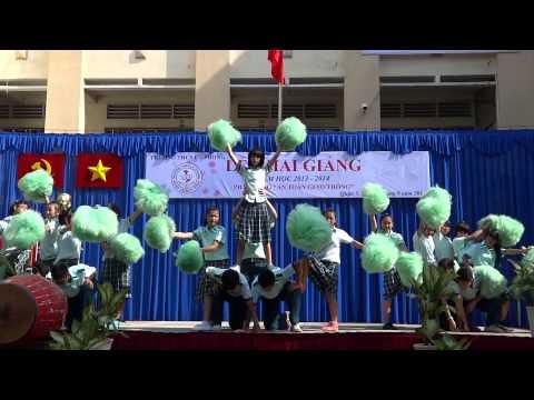 Múa Cổ Động - Học sinh Trường THCS Lý Phong - Quận 5