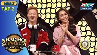 HTV NHẠC HỘI SONG CA MÙA 2| Diệu Nhi né thính Minh Xù quá mượt | NHSC #2 FULL | 22/4/2018