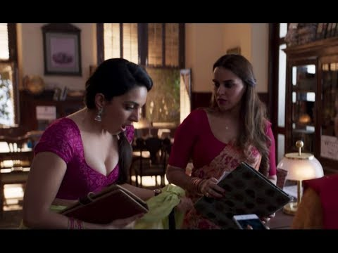 Kiara Advani Hot Cleavage scene - Lust Stories