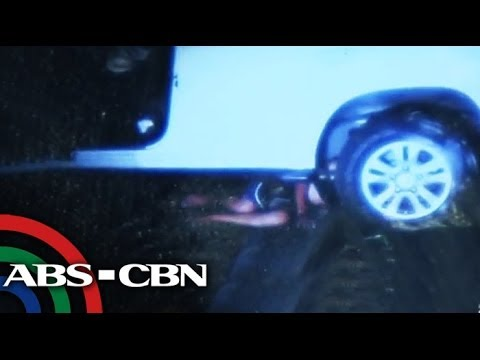 Man trapped under SUV