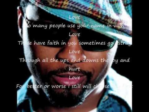 Musiq Soulchild – Love Lyrics | Genius Lyrics