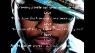 Love By Musiq Soulchild. With Lyrics