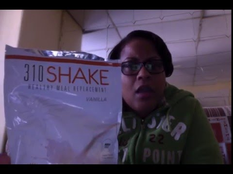 310 shake sample / Raw meal replacement shakes