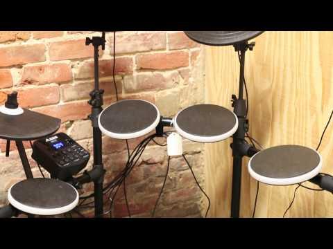Alesis DM-Lite Electronic Drum Kit Review at www.allenmusicshop.com