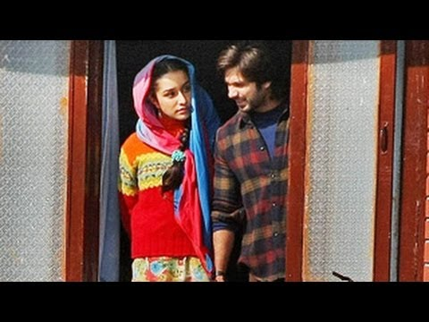 MAking of HAIDER Shahid Kapoor & Shraddha Kapoor - HAIDER first Look