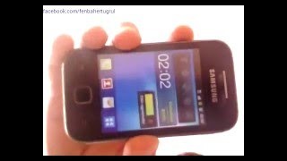 Samsung Galaxy Young GT-S5360 Format Atma ( Türkçe ) [ E