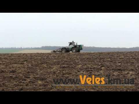 Вспашка Дисковым Плугом ПД-3,3 от Велес-Агро