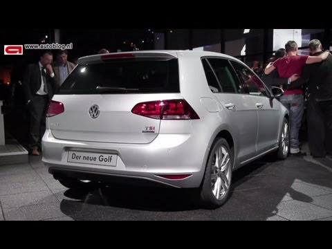 Unveiling of the new Volkswagen Golf VII (2012)