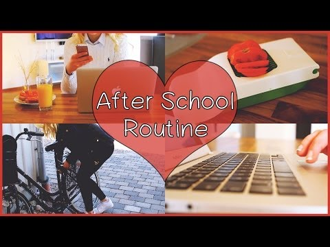 After School Routine ♥ 2014