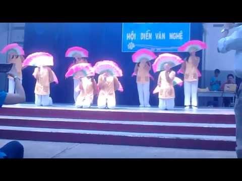 Múa quạt Quê Tôi-THCS Lương Thế Vinh q3