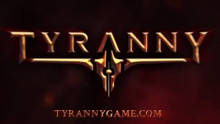 Tyranny - Bejelentés Teaser Trailer