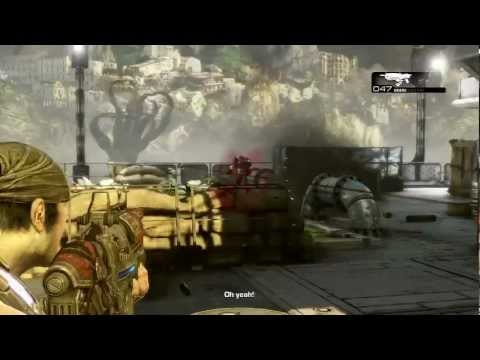 Gears of War 3: Walkthrough - Part 2 [Act 1-1: Anchored] (GoW3 Gameplay & Commentary)