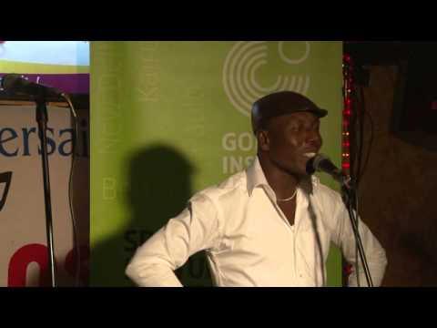 Abidjan Spoken Word, the Winner: Djoko N'guessan David