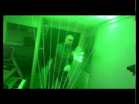 Prolight Laser Harp Controller__ Jean - Michel Jarre __Rendezvous 2 (Cover Version) 