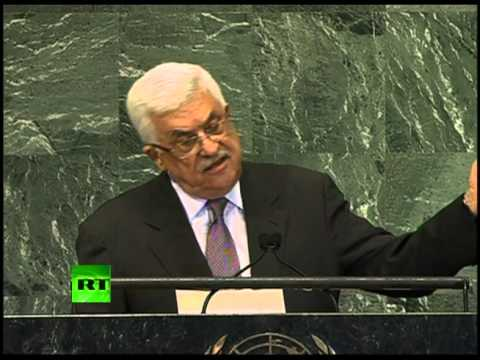 'Palestine must have non-member UN status': Abbas full speech at UN 2012