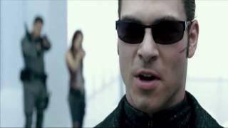 Resident Evil Afterlife: Albert Wesker Vs Chris And Claire