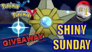 Pokemon X&Y: Shiny Staryu Fishing Chain (Giveaway)
