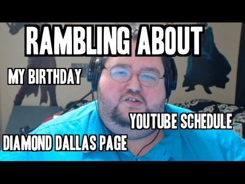 Vlog: Diamond Dallas Page, Birthdays, and more!