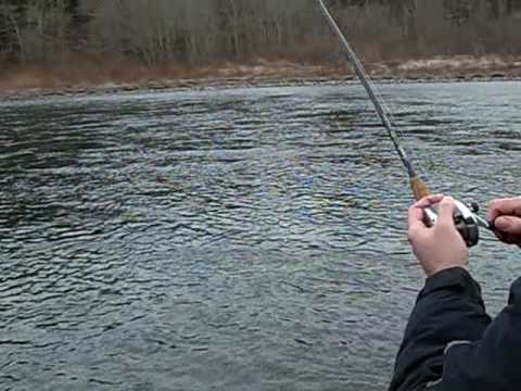 Winter steelhead on the sandy river oregon youtube for Sandy river fishing