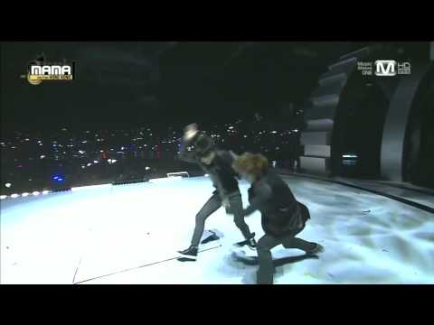 엑소(EXO) - 으르렁(Growl) + 늑대와 미녀(Beauty and the Beast) at 2013 MAMA, DO YOU LOVE EXO?