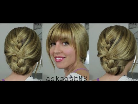 Tucked French Braid - Easy, Everyday Hairstyles for long hair and Medium Hair