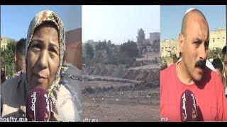 بالفيديو: ساكنة السالمية تحتج ضد لوبيات العقار: أرضنا خداوها لينا و بغاو يعطيونا نسكنو فسيدي حجاج |