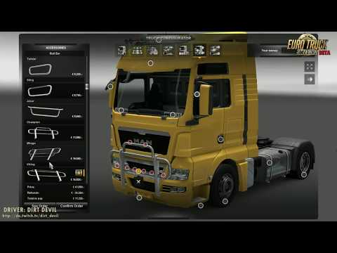 Euro Truck Simulator 2 MAN Truck/Lkw Tuning *BETA* HD