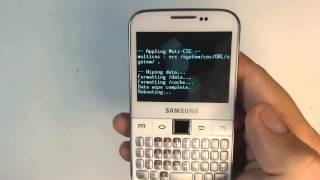 Samsung Galaxy Y Pro B5510 How To Reset Como