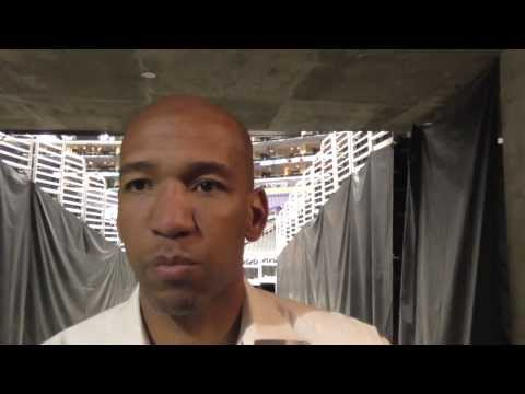 NEW ORLEANS PELICANS - COACH MONTY WILLIAMS BLACK HISTORY MOMENT