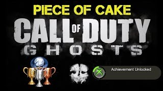 """CoD Ghosts """"Piece Of Cake"""" Achievement / Trophy Guide"""