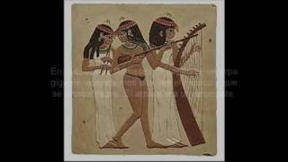 Antiguo Egipto - Instrumentos musicales