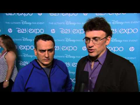Captain America: The Winter Soldier: Directors Anthony and Joe Russo D23 Expo Interview