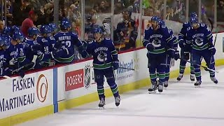 Canucks' Boeser scores after embarrassingly bad turnover by Golden Knights