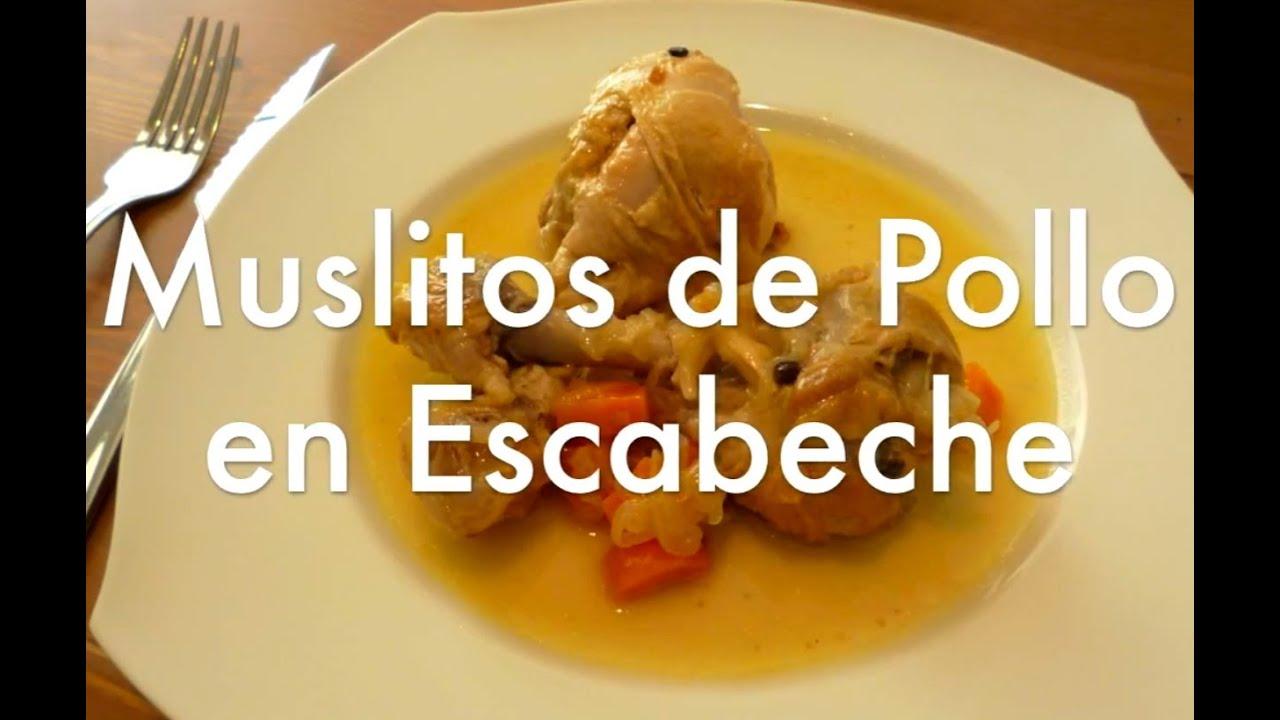 Muslos de pollo en escabeche recetas de cocina f ciles for Videos de cocina facil