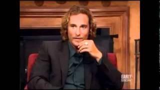 Matthew McConaughey Reacts To Matt Damon's Shirtless