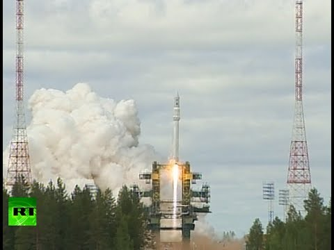 Blast off video: Russian 'Angara' orbit rocket test launch