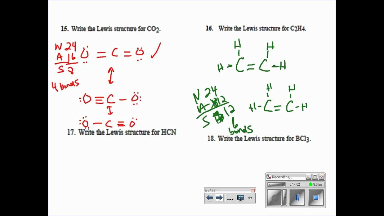 Lewis Dot Structures  Resonance  Formal Charges