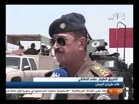 القوات البرية تنفذ عملية امنية في الصحراء الغربية 