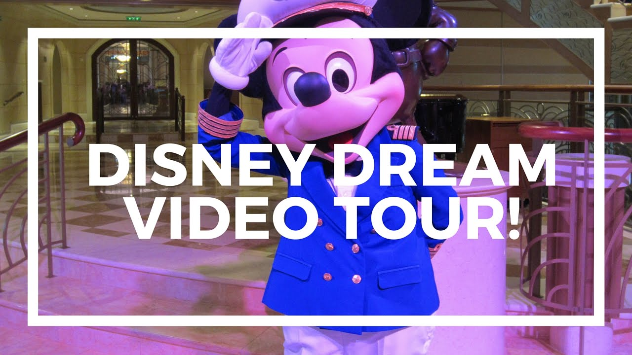 Disney Dream Cruise Ship Video Tour Youtube