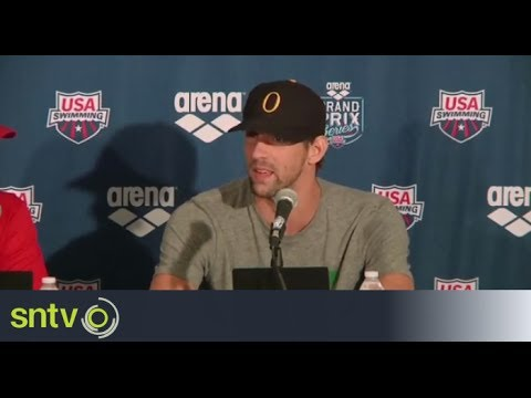 Phelps reflects on 'awesome' return to the pool