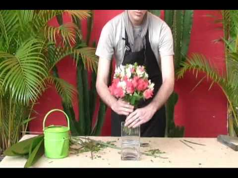 Como fazer buquê de flores-How to make flower arrangement