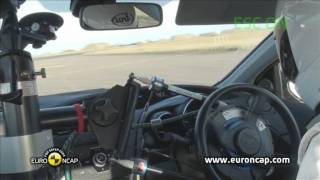 Honda Civic ESC test - Euro NCAP 2012