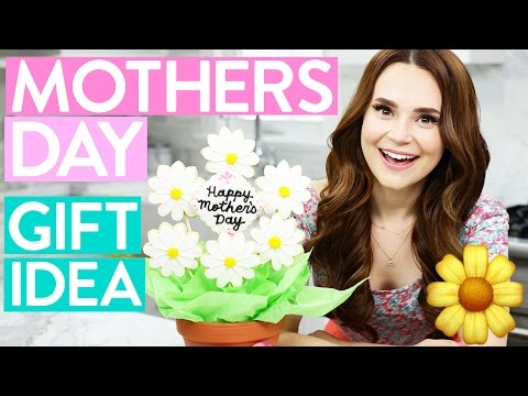 DIY MOTHERS DAY GIFT IDEA! - Cookie Flower Bouquet