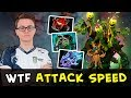 Miracle TI7 Treant Protector Immortal wtf this Attack Speed